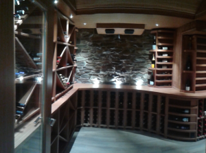 cellar design.view thru door